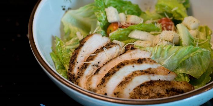 Caesar Salad from Zook Rooftop Bar at Zazz Urban Hotel 308/1 Rama 9 Road Huai Kwang, Bangkok