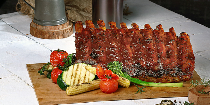 Charcoal Grilled Babyrack Ribs from Duckland at United Square Shopping Mall in Novena, Singapore