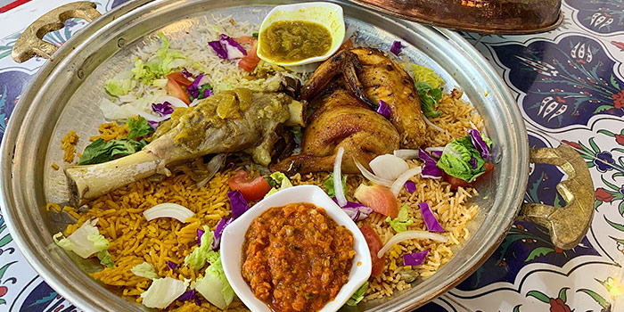 Chef Platter from Deli Moroccan in Bugis, Singapore