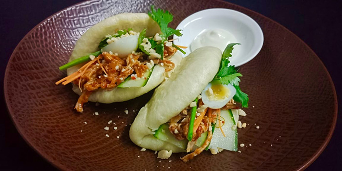 Chicken Bao from Maluku Restaurant, Ubud, Bali