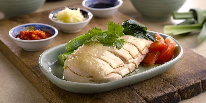 Chicken Rice from Kopi Tiam in Swissotel The Stamford, Singapore