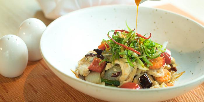 Chicken Salad from Zook Rooftop Bar at Zazz Urban Hotel 308/1 Rama 9 Road Huai Kwang, Bangkok