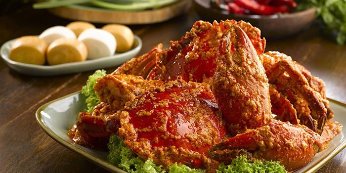 Chilli Crab from Kopi Tiam in Swissotel The Stamford, Singapore