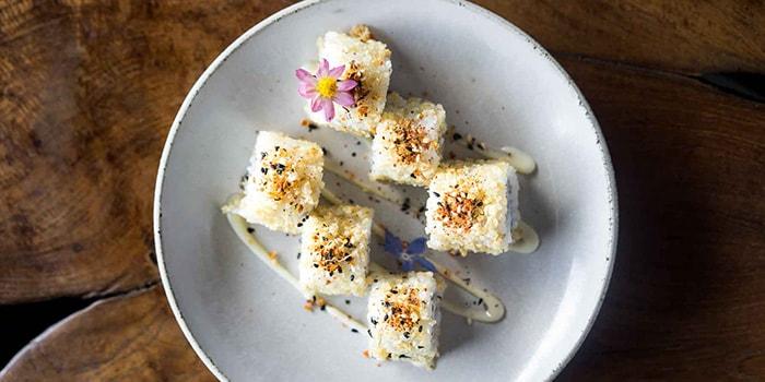 Food from Billy Ho, Canggu, Bali