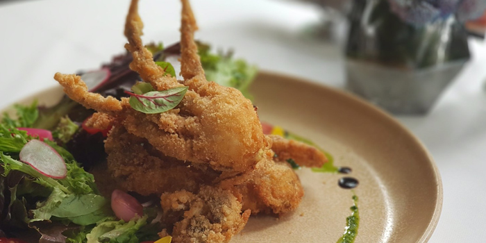 Deep Fried Soft Shell Crab from The Ninth Cafe