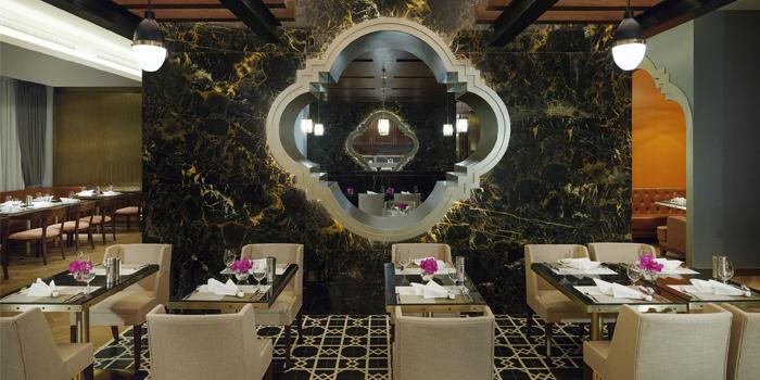 Dining Area of Portosino in Karon, Phuket, Thailand.