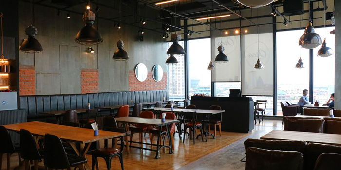 Dining Area of Orca Baker & Butcher Gateway at Bangsue 4 Floor 162/1-2,168 10 Pracha Rat 2 Rd, Bang Sue Bangkok