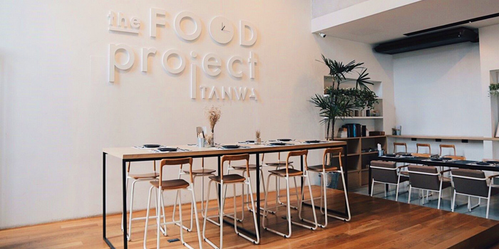 Dining Area of Tanwa : The Food Project at 100/2 moo3 BangGruay-Srainoi Rd Bangbuatong, Bang Rak Phatthana Bang Bua Thong Nonthaburi
