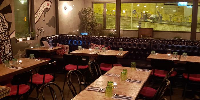 Dining Area, Baan Thai, Central, Hong Kong