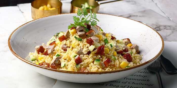 Duck Fried Rice from Duckland at United Square Shopping Mall in Novena, Singapore