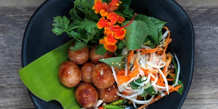E-Sarn Sausage from Yelo Cafe at 20/2 Rama I Rd Khwaeng Wang Mai, Khet Pathum Wan Bangkok