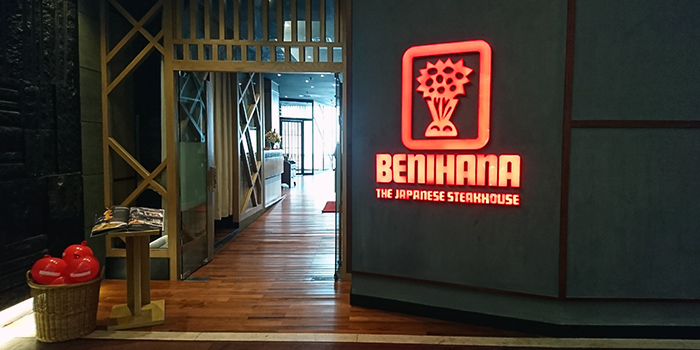 Exterior from Benihana at Plaza Indonesia in Thamrin, Jakarta