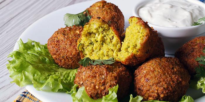 Falafel from Istanblue Meze & Grill Turkish Restaurant in Bugis, Singapore