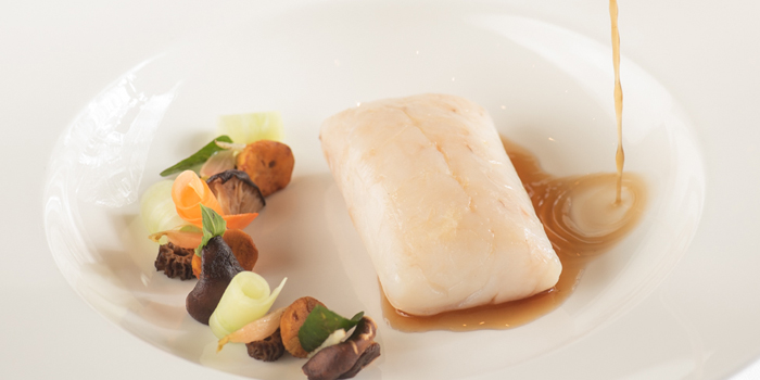 Fish Dishes from Tables Grill Restaurant at Grand Hyatt Erawan, Bangkok