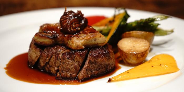 FoieGras Wagyu from Koi Restaurant and Lounge at 39th floor, Sathorn Square Building 98 North Sathorn Road Silom, Bangrak Bangkok