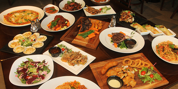 Food Spread from Bistro @ Duo at Duo Galleria in Bugis, Singapore