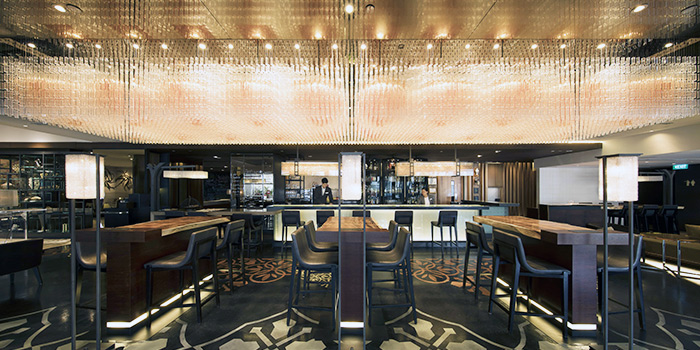 Interior of Anti:dote at Fairmont Singapore in City Hall, Singapore
