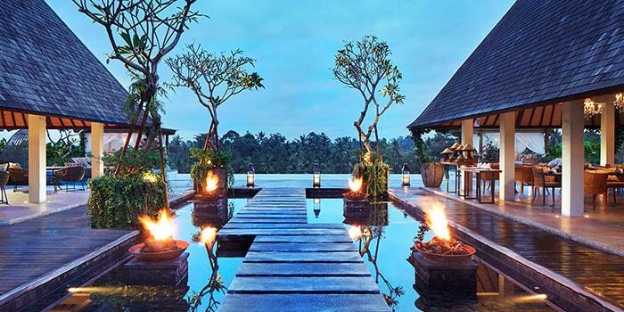 Exterior from Senja Bar & Resto, Ubud, Bali