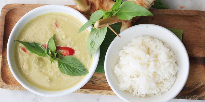 Green Curry from Elefin at 3/250 Soi Mahadlekluang 2 Rajadamri Road, Patumwan Bangkok