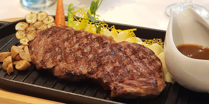 Grilled Sirloin Steak from The Ninth Cafe
