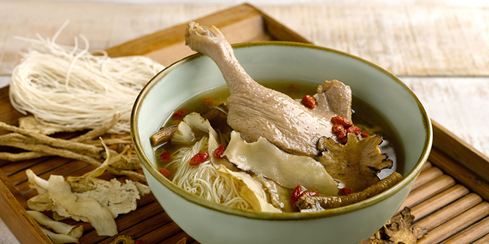 Herbal Duck Mee Sua from Kopi Tiam in Swissotel The Stamford, Singapore