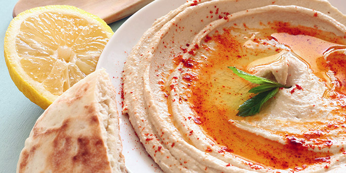Hummus from Istanblue Meze & Grill Turkish Restaurant in Bugis, Singapore