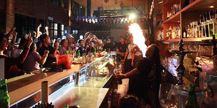 Vibe from Romeos Bar & Grillery, Legian, Bali