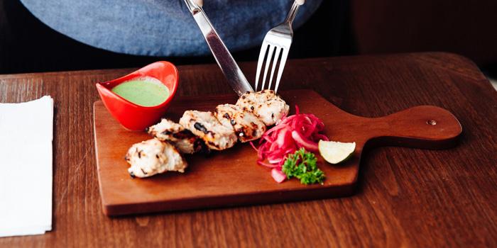 Dish 2 at Babooji, Gunawarman