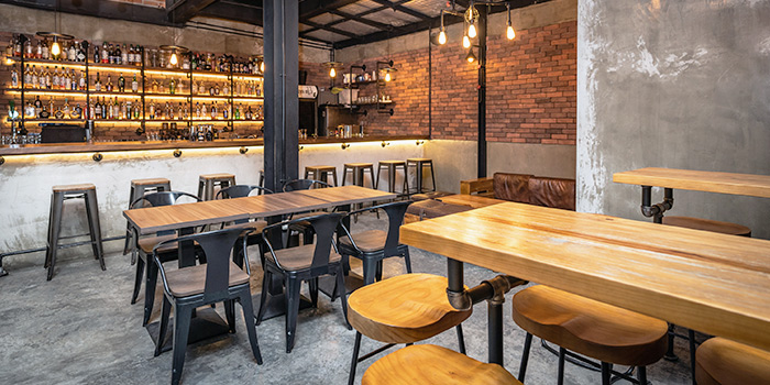 Interior from Hopscotch in Telok Blangah, Singapore