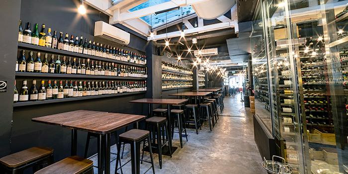 Interior from LQV Le Quinze Vins in Telok Ayer, Singapore