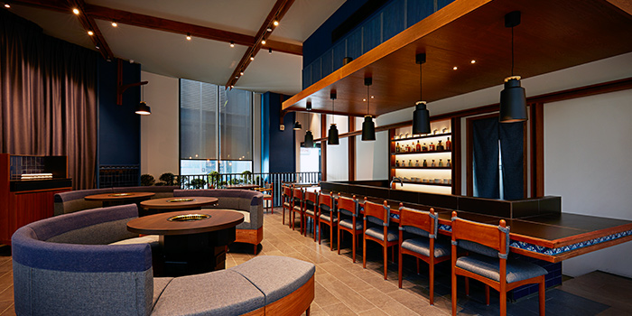 Interior from The Gyu Bar in Newton, Singapore
