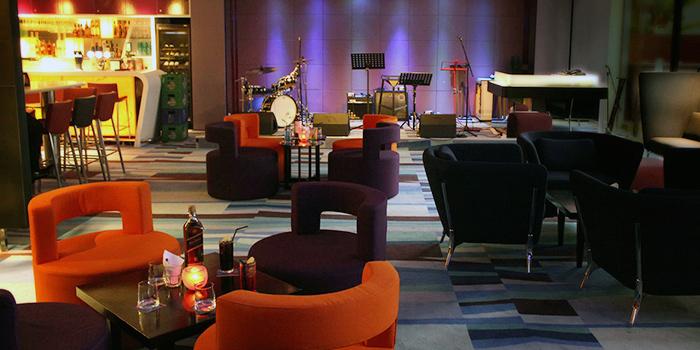Interior of J Bar at M Hotel Singapore in Tanjong Pagar, Singapore