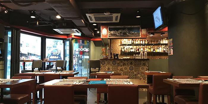 Interior, Annapurna Restaurant & Bar, Central, Hong Kong