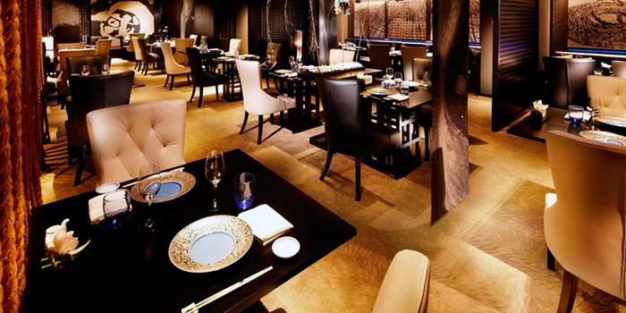 Main Dining Area of Mikuni in Fairmont Singapore, Singapore