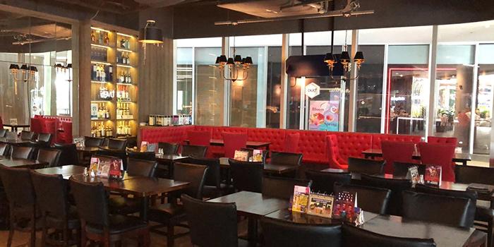 Interior of Bistro @ Duo at Duo Galleria in Bugis, Singapore