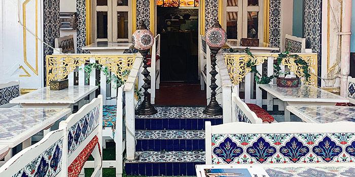Interior from Deli Moroccan in Bugis, Singapore