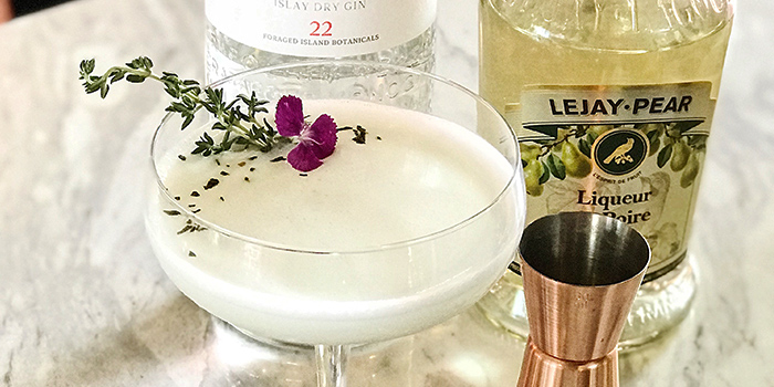 Intoku Cocktail from Epiphyte in Outram, Singapore