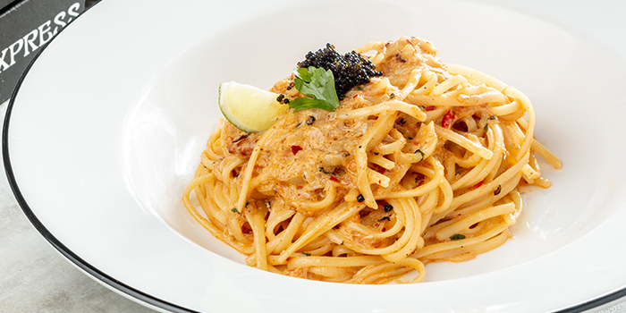 Linguine Granchio con Panna from PizzaExpress (Duo) at Duo Galleria in Bugis, Singapore