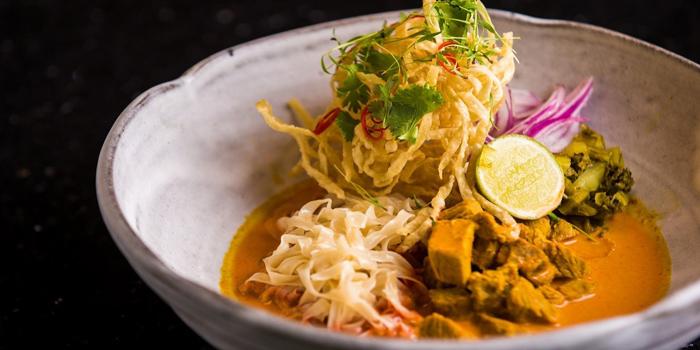 Northern Style Curry Noodle from Zook Rooftop Bar at Zazz Urban Hotel 308/1 Rama 9 Road Huai Kwang, Bangkok