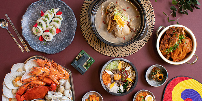 Korean Food Fare Buffet (15 Mar to 28 Apr) from Sky22 at Courtyard by Marriott Singapore Novena in Novena, Singapore