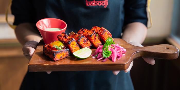 Dish 1 at Babooji, Gunawarman