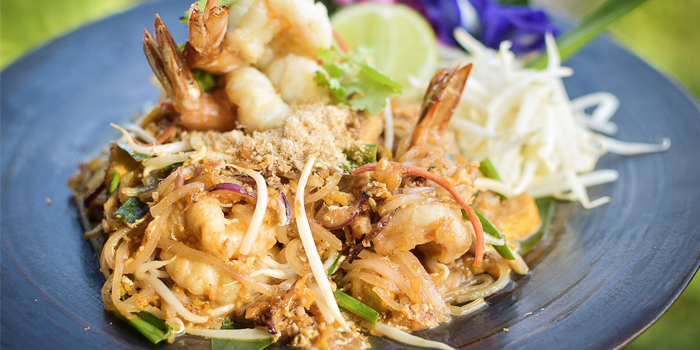 Pad-thai-goong from Dee Plee in Layan, Phuket, Thailand