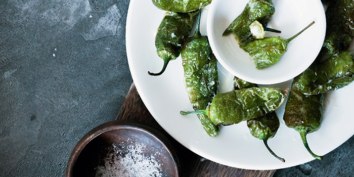 Padron Peppers from El Tardeo in Tanjong Pagar, Singapore