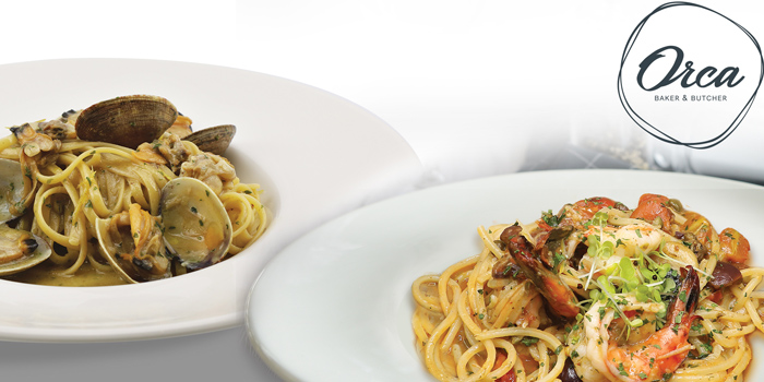 Pasta Dishes from Orca Baker & Butcher at Lasalle