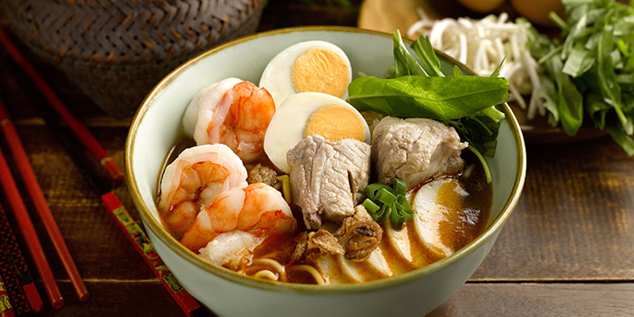 Penang Style Prawn Mee from Kopi Tiam in Swissotel The Stamford, Singapore