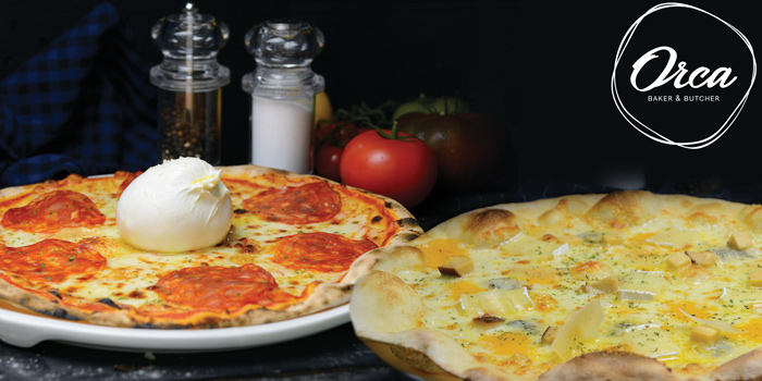 Pizza Dishes from Orca Baker & Butcher at Lasalle
