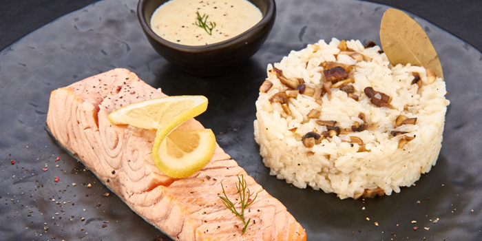 Poached Salmon from D