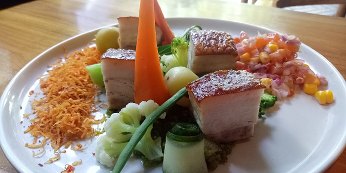Pork Rica-Rica from Maluku Restaurant, Ubud, Bali