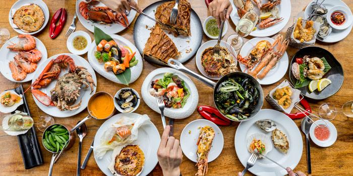 Selection of Food from Red Oven at 7/F, Sofitel So Bangkok 2 North Sathorn Road, Bangrak Bangkok