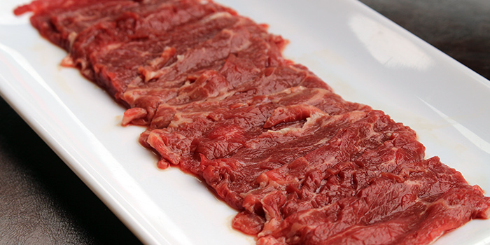 Beef Blades from Chao Niu Hot Pot in East Coast, Singapore